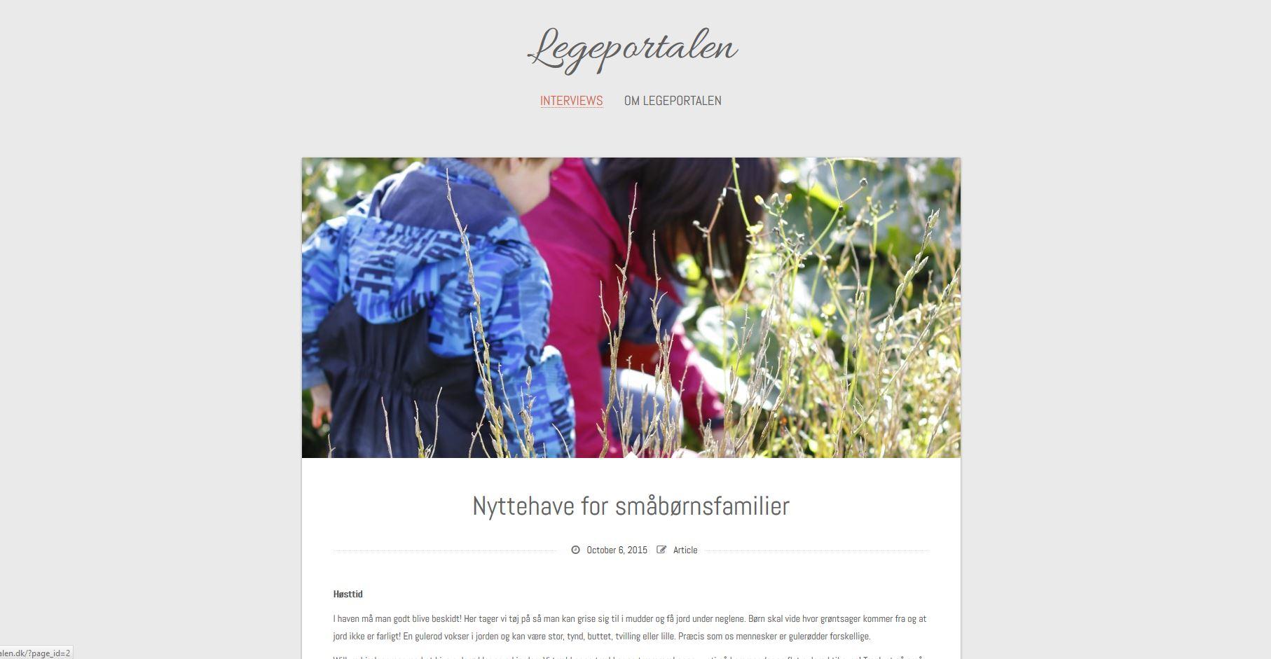 Legeportalen.dk